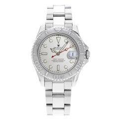 Rolex Yacht-Master 168622 Platinum Steel Automatic 1999 Midsize Watch