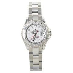 Rolex Yacht-Master 169622 Platinum Dial & Bezel Lady's Automatic Watch