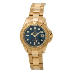 Rolex Yacht-Master 169628, Blue Dial, Certified and Warranty