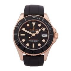 Rolex Yacht-Master 18 Karat Rose Gold 268655 Wristwatch