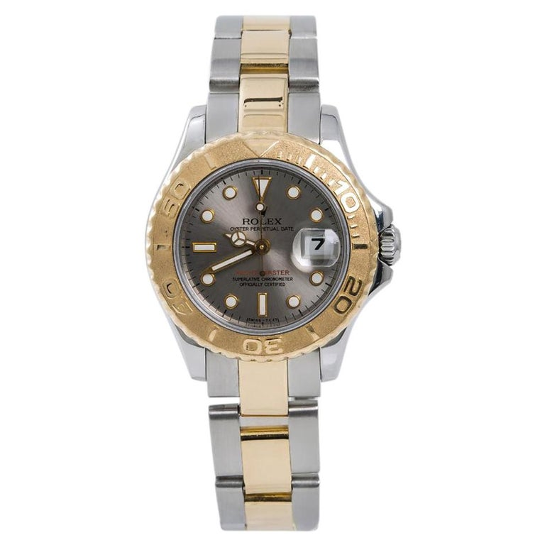 Rolex Yacht-Master 69623, Silver Dial, Certified and Warranty For Sale