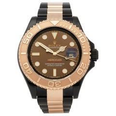 Rolex Yacht-Master Hercules Dlc Coated Stainless Steel and 18 Karat Gold 116621