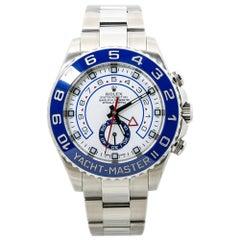 Rolex Yacht-Master II Oyster Perpetual 116680 Blue Bezel Mens Watch