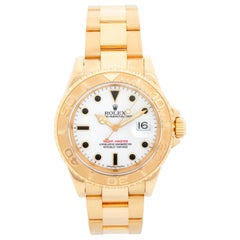 Rolex Yacht-Master Men's 18 Karat Yellow Gold Watch 16628