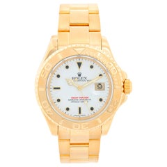 Rolex Yacht-Master Men's 18 Karat Yellow Gold Watch 16628