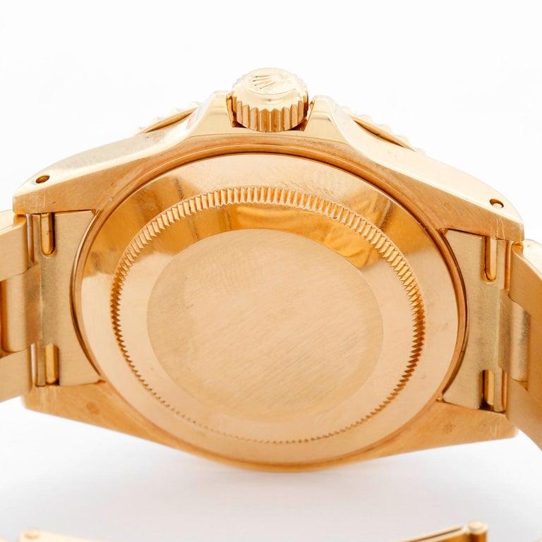 Rolex Yacht-Master Men's 18 Karat Yellow Gold Watch 16628 For Sale 1