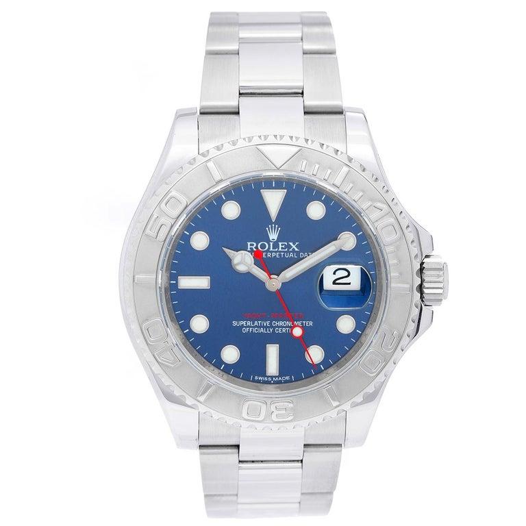 Rolex Yacht Master Men S Stainless Steel Watch 116622