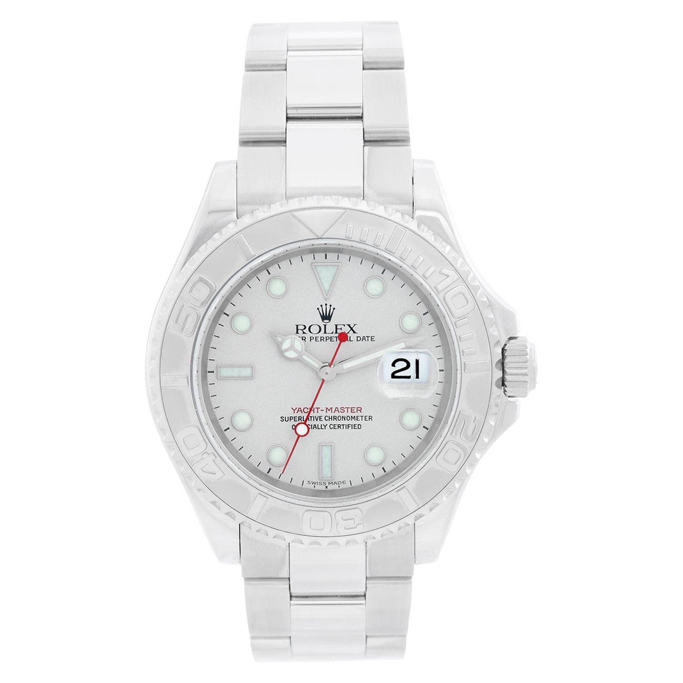 Rolex Yacht-Master Men's Stainless Steel Watch 16622