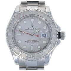 Rolex Yacht-Master Men's Watch Stainless Steel Platinum Automatic 2Yr Wnty 16622