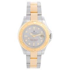 Rolex Yacht-Master Midsize Men's/Ladies Steel & Gold 2 Tone Watch 68623