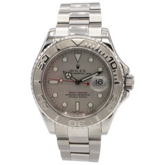 Rolex Yacht-Master Oyster Perpetual Date 16622 Steel and Platinum Watch