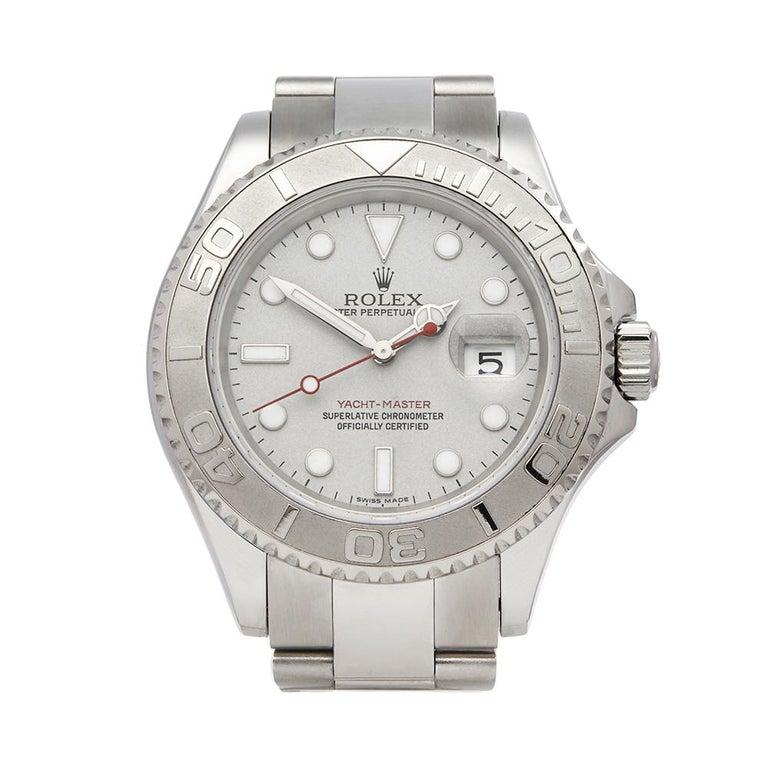 Rolex Yacht Master Stainless Steel 116622 Wrist Watch