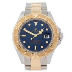 Rolex Yacht-Master Stainless Steel and 18 Karat Yellow Gold Men's 16623