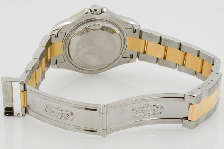 Rolex Yacht-Master Steel 18 Karat Yellow Gold and Champagne Ladies Watch 68623 1
