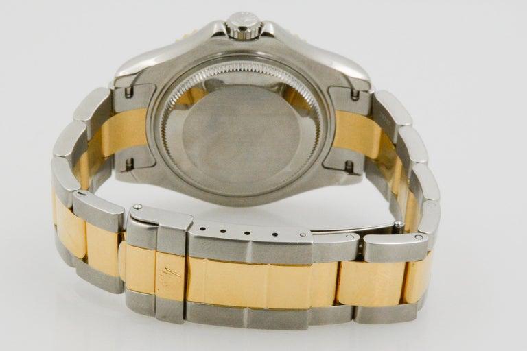 Rolex Yacht-Master Steel 18 Karat Yellow Gold and Champagne Ladies Watch 68623 3