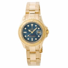 Rolex Yacht-Master 169628, Blue Dial Certified Authentic