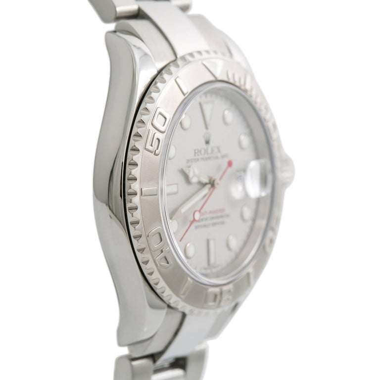 Rolex Yacht-Master 7680, Silver Dial Certified Authentic For Sale 1