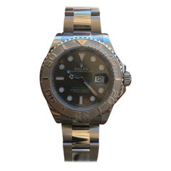 Rolex Yachtmaster 116622 Rhodium Dial, Full Set Box and Papers Random Serial