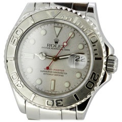 Rolex Yachtmaster 168622 Yacht-Master Men's Platinum Steel Watch