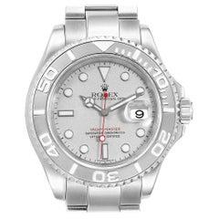 Rolex Yachtmaster 40 Steel Platinum Automatic Men's Watch 16622