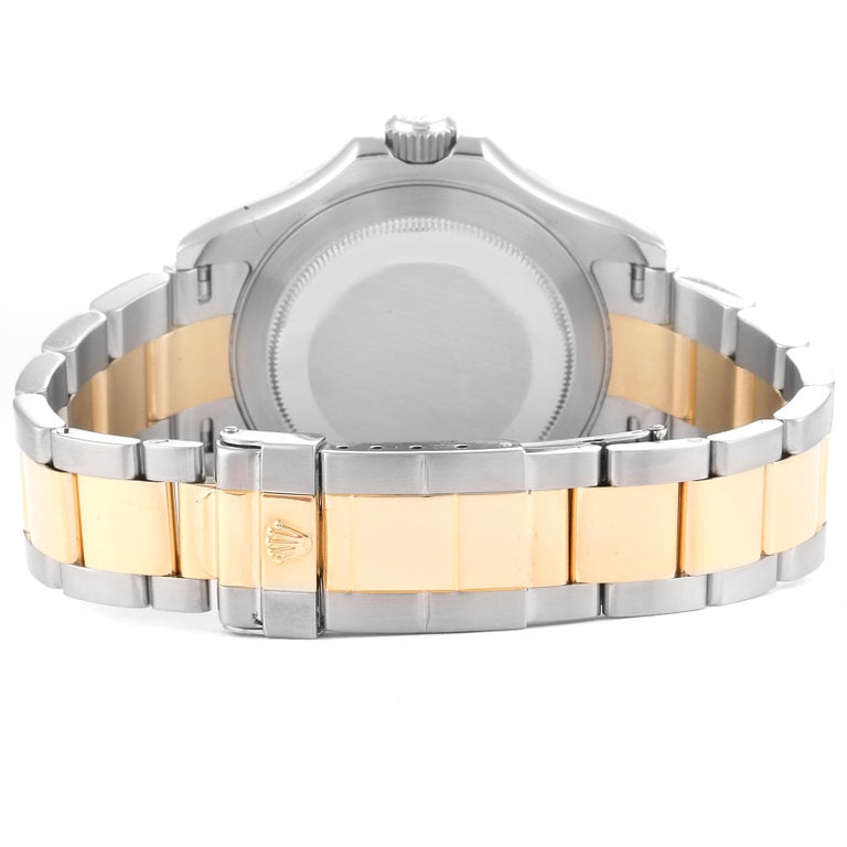 Rolex Yachtmaster Steel Yellow Gold Blue Dial Men's Watch 16623 For Sale 6