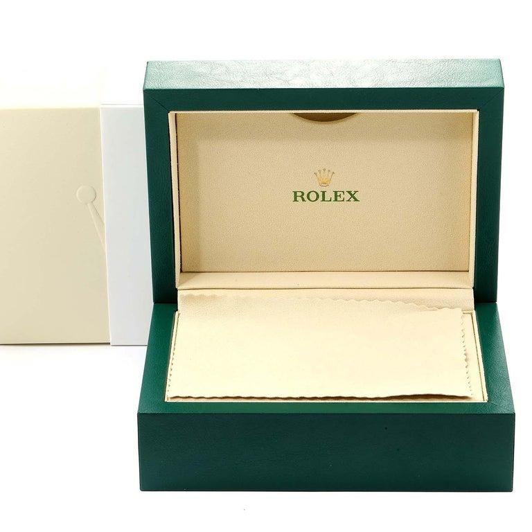 Rolex Yachtmaster II Stainless Steel Blue Bezel Men's Watch 116680 For Sale 8