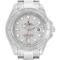 Rolex Yachtmaster Steel Platinum Men's Watch 16622 Box
