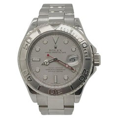 Rolex Yachtmaster with Platinum Dial and Bezel, SS Oyster Bracelet, circa 2005