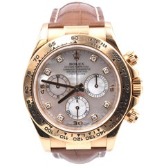 Rolex Yellow Gold Daytona Cosmograph Watch Ref. 116518