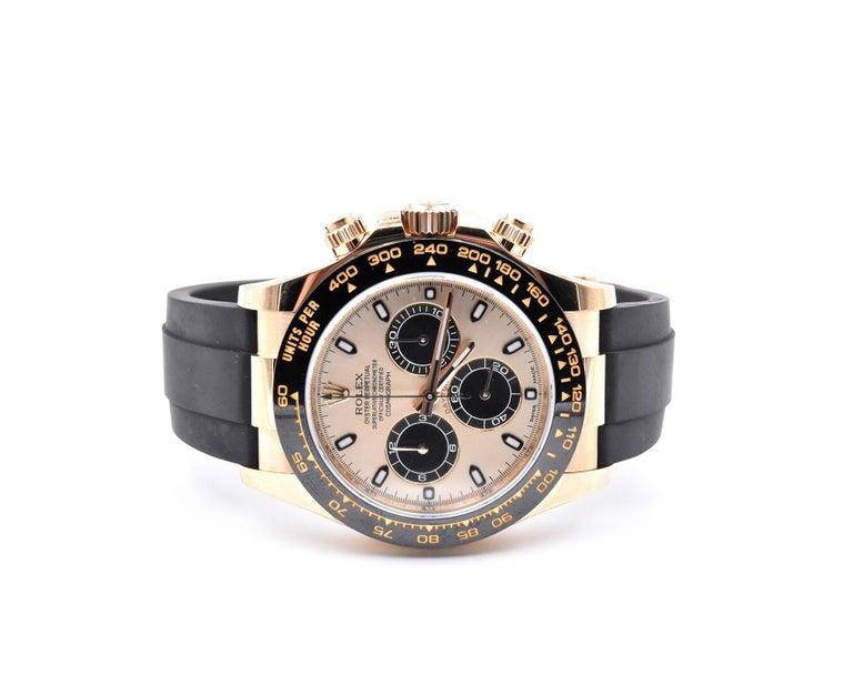 Rolex Yellow Gold Daytona Cosmograph Watch Ref. 116518LN In Excellent Condition In Scottsdale, AZ