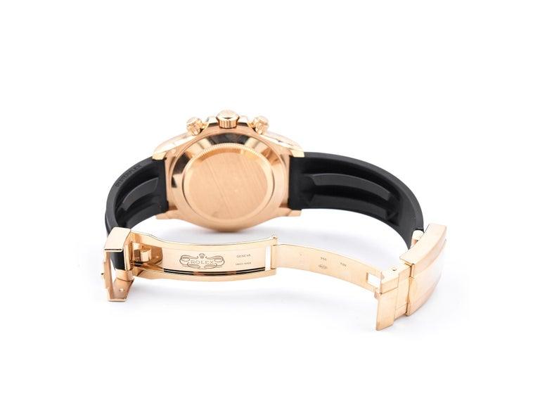 Men's Rolex Yellow Gold Daytona Cosmograph Watch Ref. 116518LN