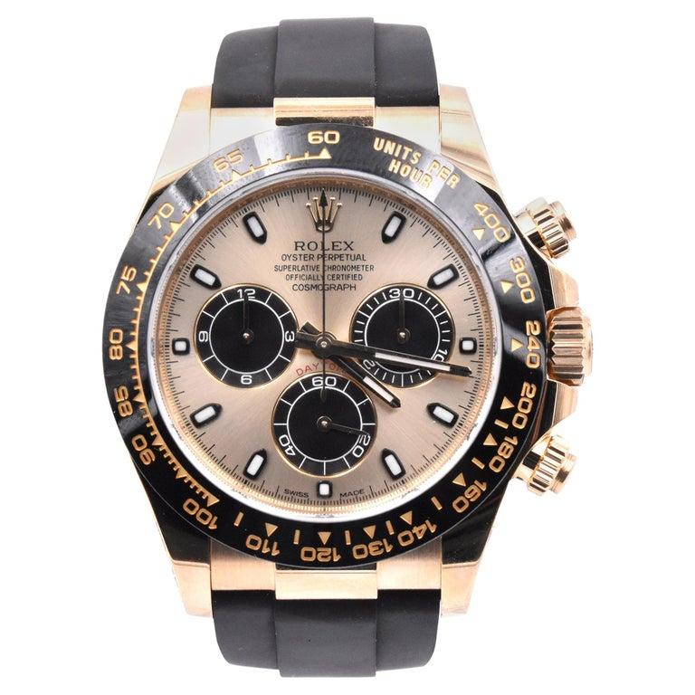Rolex Yellow Gold Daytona Cosmograph Watch Ref. 116518LN