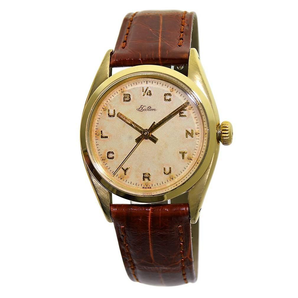 Rolex Yellow Gold Presentation Manual Wristwatch, circa 1956