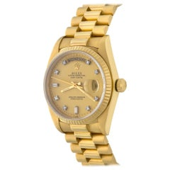 Rolex Yellow Gold President Day-Date Oyster Automatic Wristwatch Ref 18238
