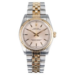 Rolex Yellow Gold Steel Ladies Wristwatch