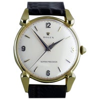 Rolex Yellow Gold Super Precision Chronometer Wristwatch, circa 1949