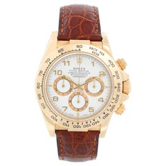 Rolex Zenith Cosmograph Daytona Men's 18 Karat Yellow Gold Watch 16518