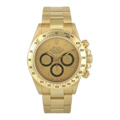 Rolex Zenith Daytona 16528 Yellow Gold Men's Watch