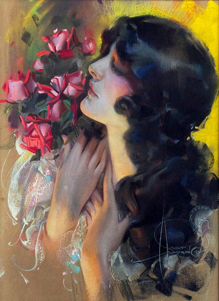 The Dream Girl - Painting by Rolf Armstrong
