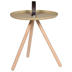 Rolf Benz 973 Wood Coffee Table Green Olive Green Round Table Side Table