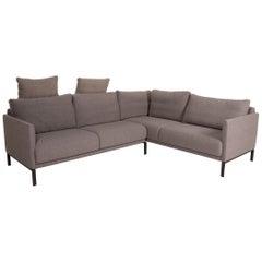Rolf Benz Cara Fabric Sofa Gray Corner Sofa