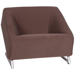 Rolf Benz Freestyle Fabric Armchair Brown