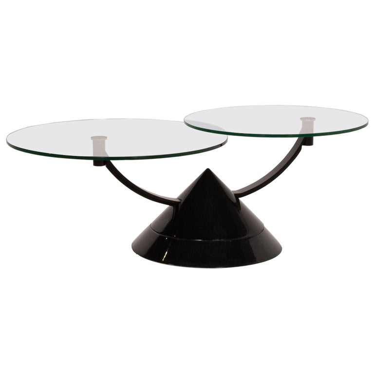 Rolf Benz Glass Table Black Coffee Table Stone Outlet Adjustable