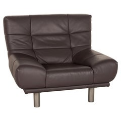 Rolf Benz Leather Armchair Gray
