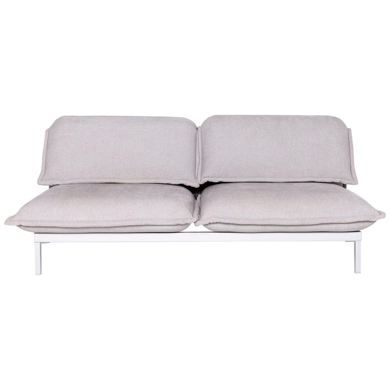 Brilliant Rolf Benz Nova Designer Fabric Sofa Gray Genuine Leather Couch Function Sofa Ocoug Best Dining Table And Chair Ideas Images Ocougorg