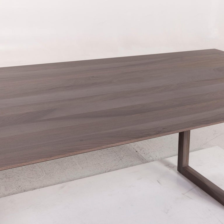 Modern Rolf Benz Wood Dining Table Gray Table