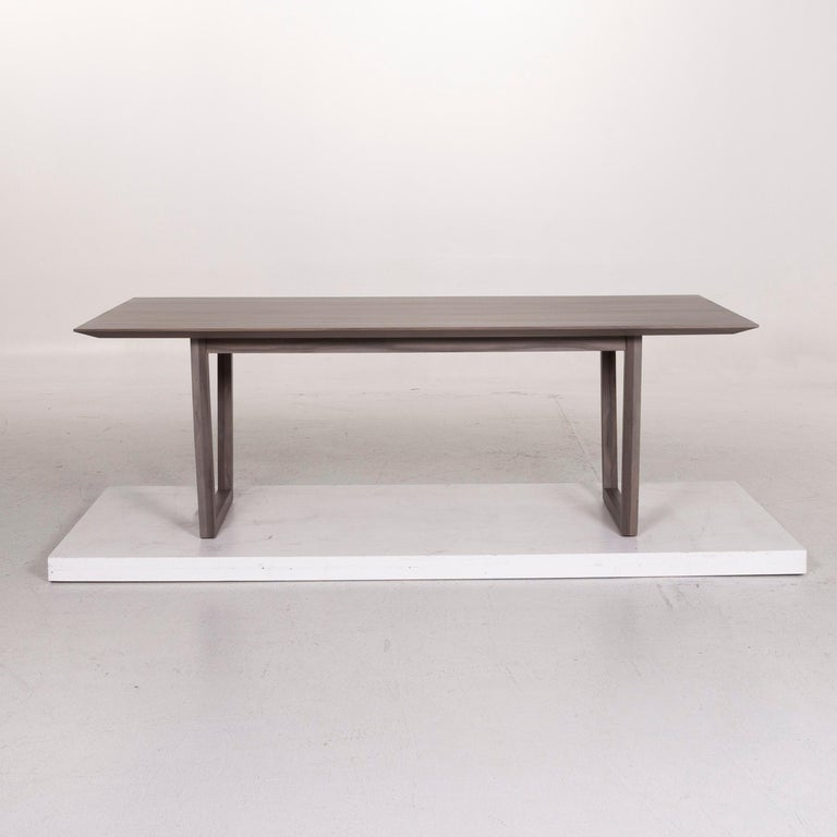 Rolf Benz Wood Dining Table Gray Table 2