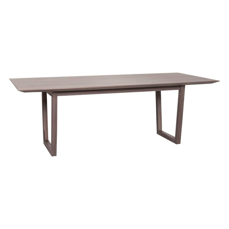 Rolf Benz Wood Dining Table Gray Table