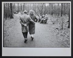 Early spring in Cologne City forest, Germany 1954.