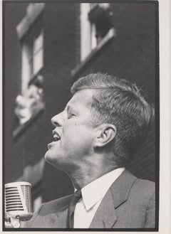 JFK speaking - John F. Kennedy Election campaign 1960